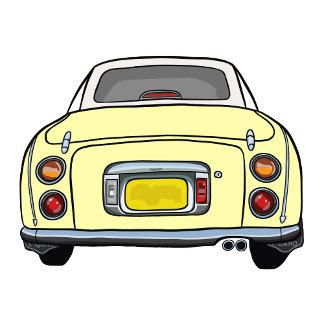 Yellow Figaro Car