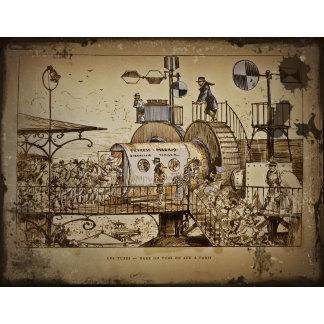 ROBIDA Vintage Steampunk Design