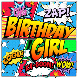 Birthday Girl Comic Book