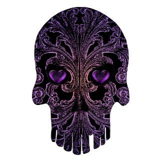 Filigree Goth Day of the Dead Purple Skull