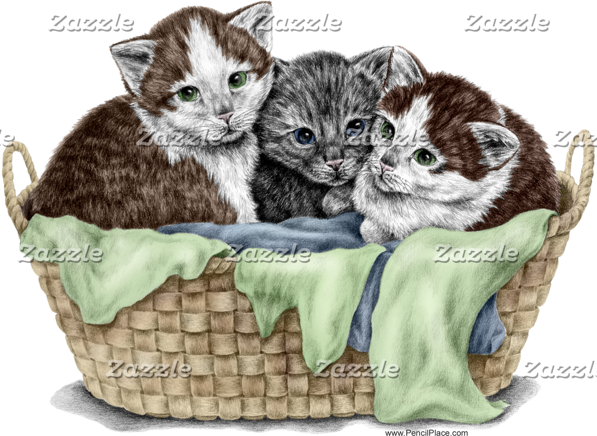 Cat Kitten Art