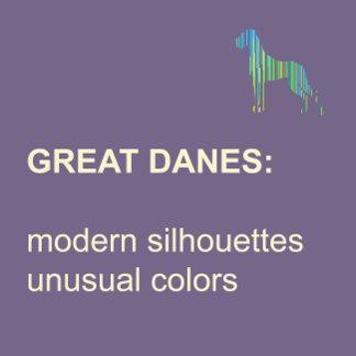 Great Danes modern