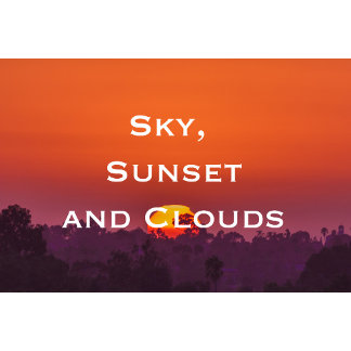 Sky, Clouds, Sunsets