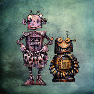 Two Funny Robots