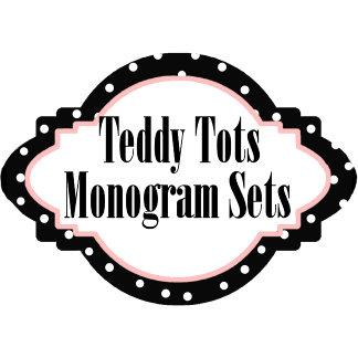 TEDDY TOTS Alphabet Monogram Collection
