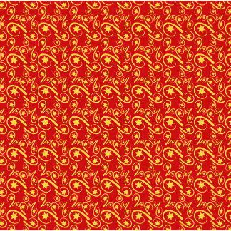 ★ Stars ★ Pattern Red