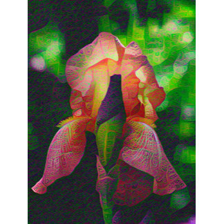 DeepDream Flowers