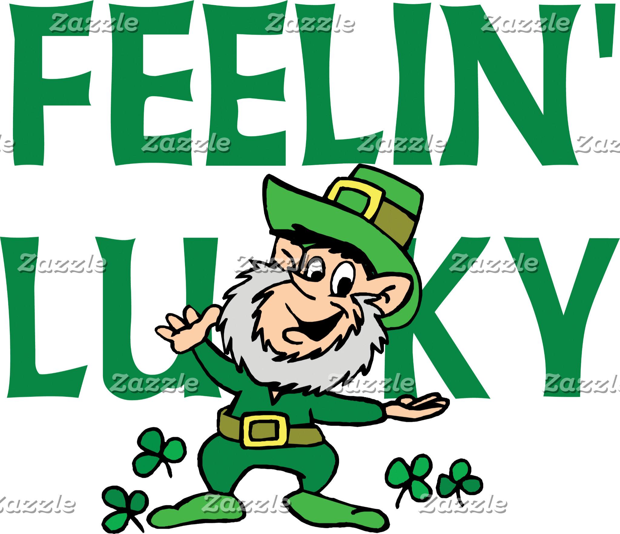 Irish - Feeling Lucky T-Shirt Gift Cards