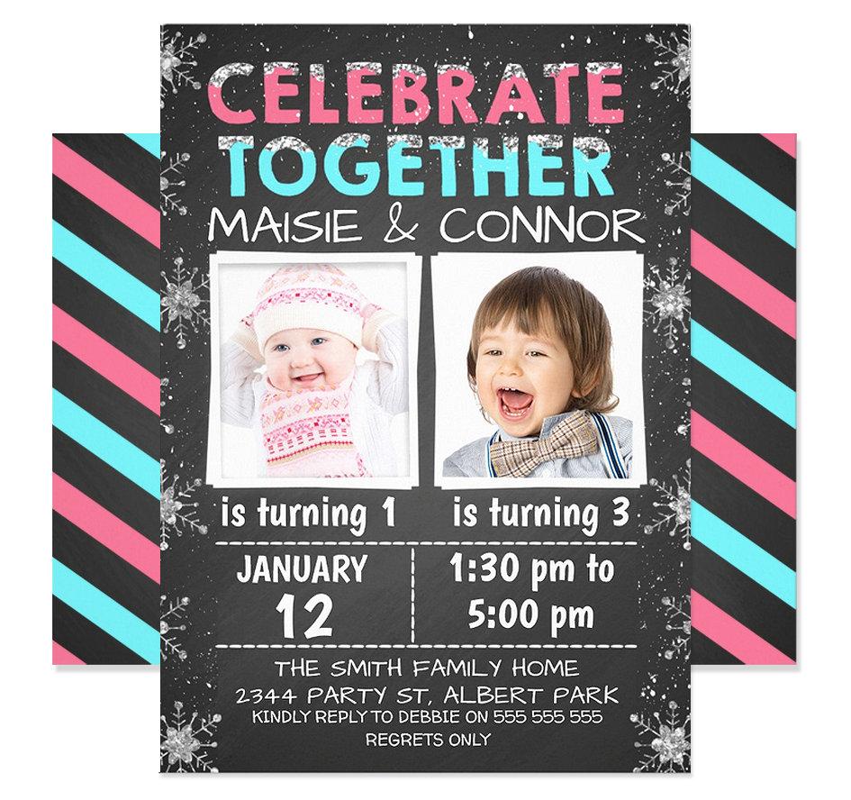 Join Birthday Invitations