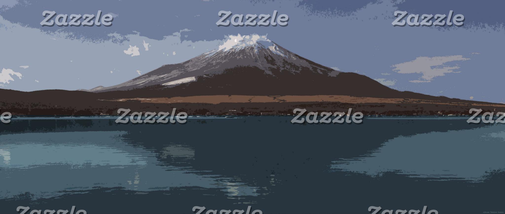"""Abstract Fuji Yama"""