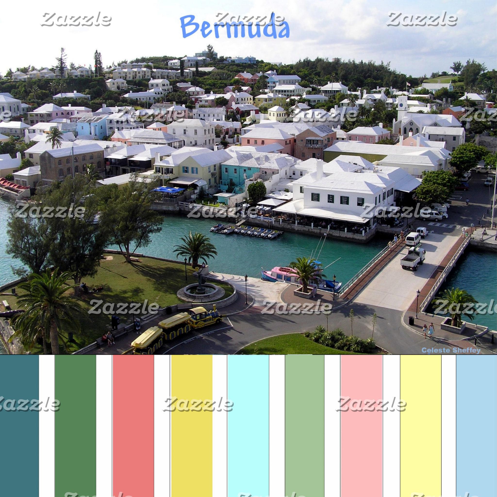 Bermuda - Tropical colors