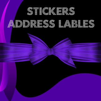 STICKERS + Address Labels
