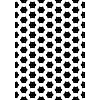 Black & White Patterns | Hexagons VI