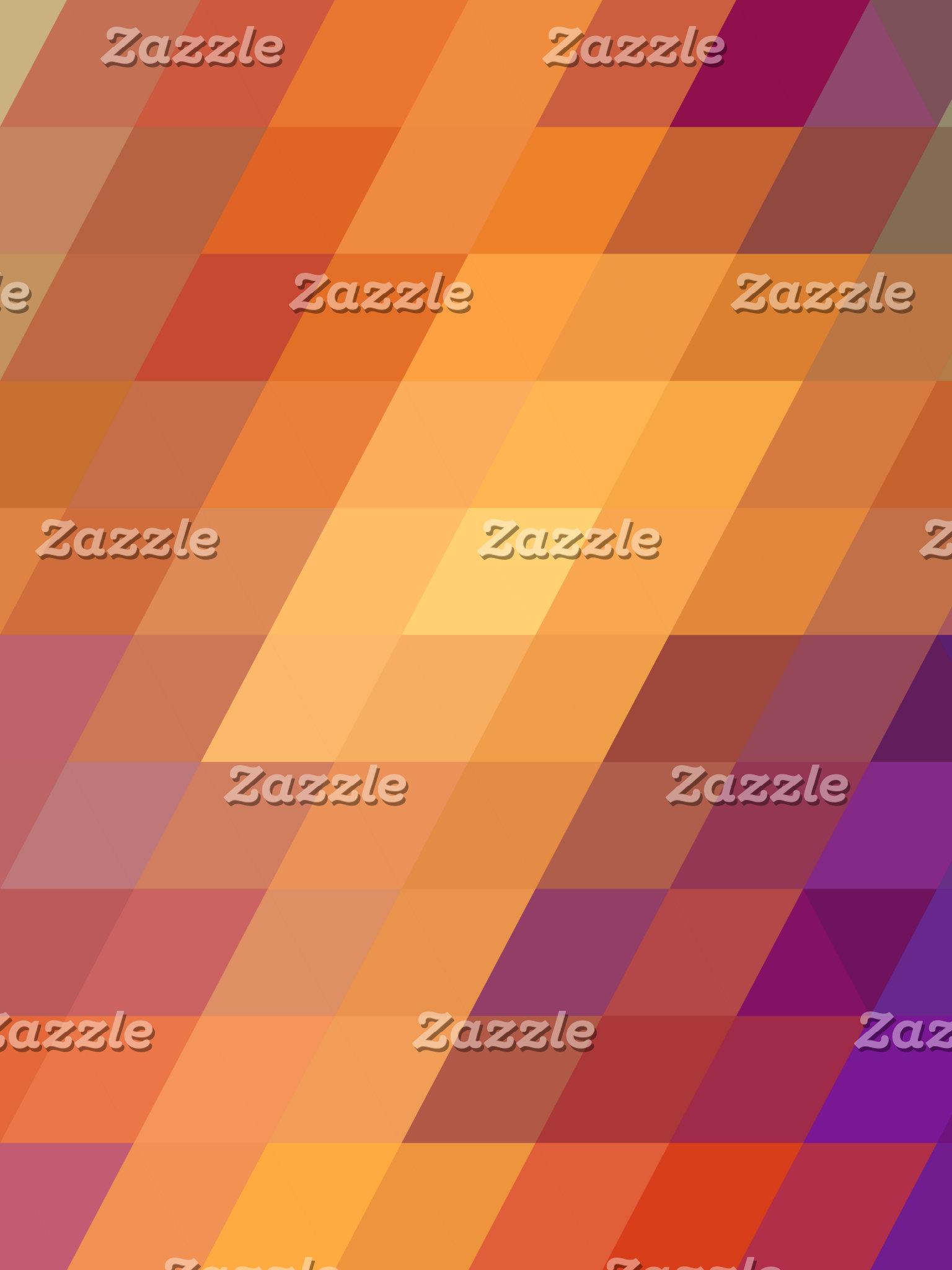 Geometric Patterns   Orange Parallelograms