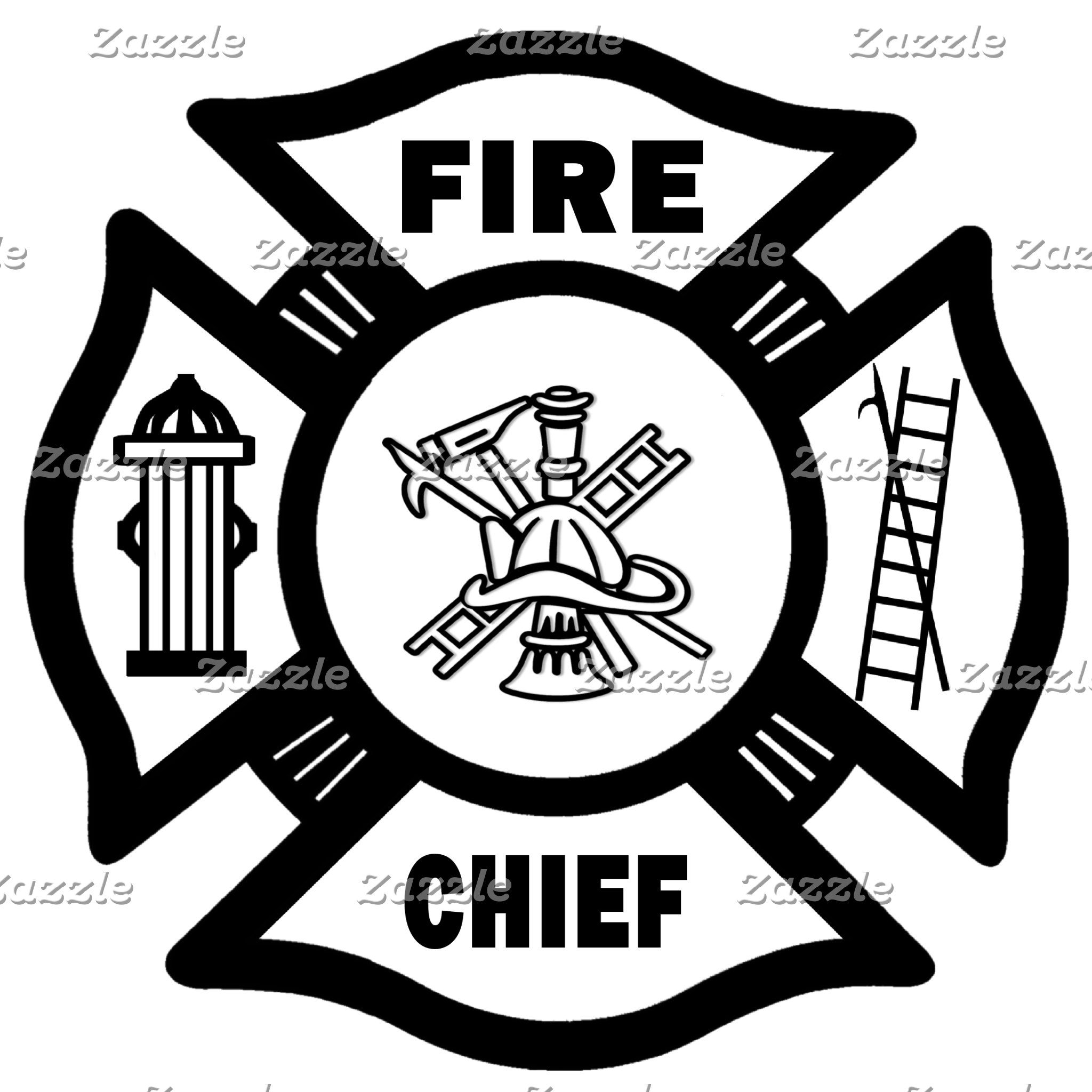Fire Chief Maltese Cross