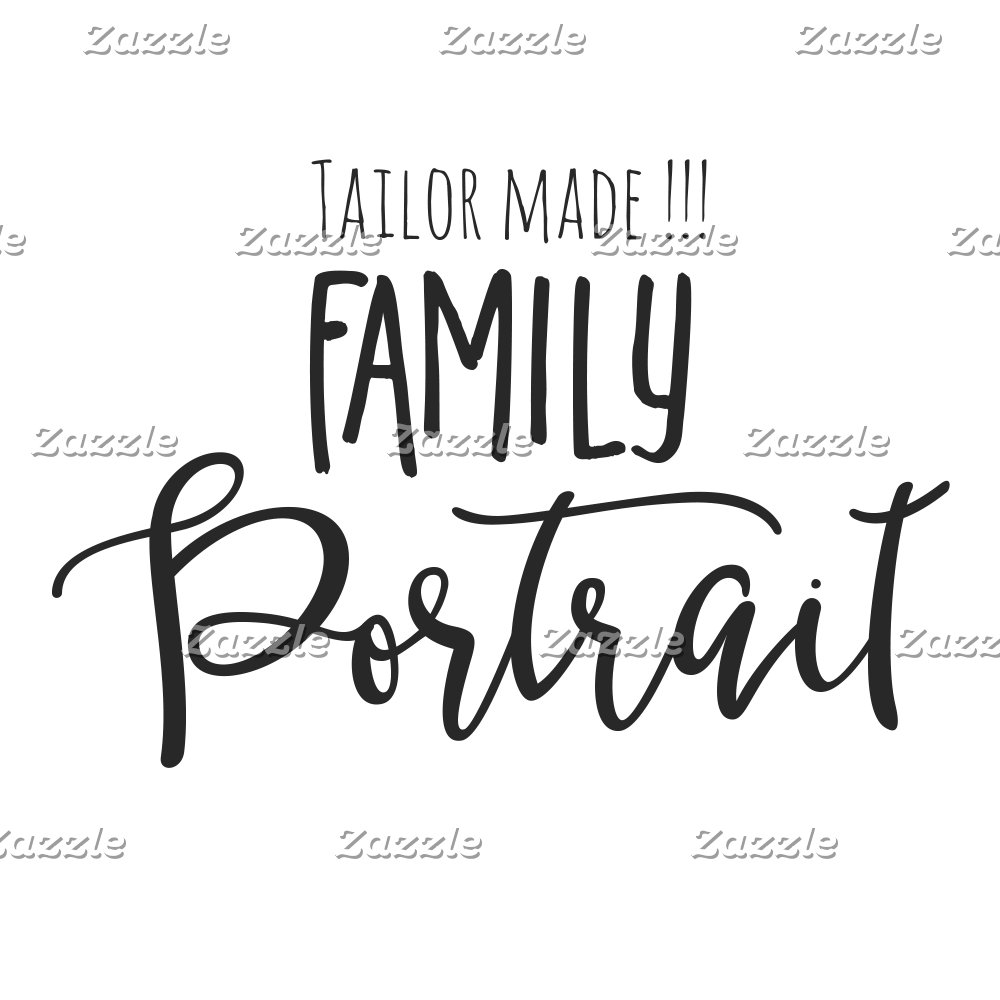Family Portrait Tailor Made