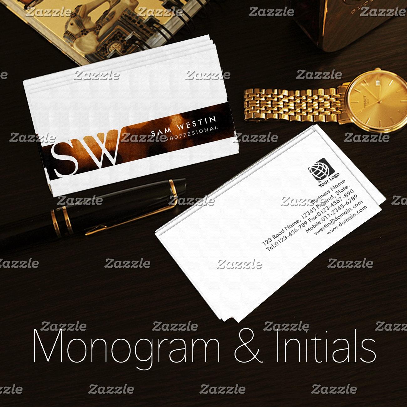 Monogram and Initials