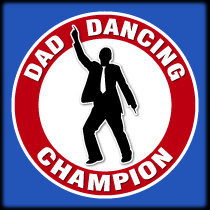 Dad Dancing Champion