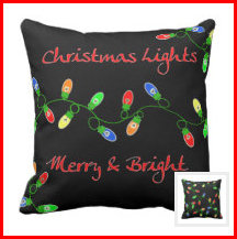 Christmas Tree Lights Apparel & Decor