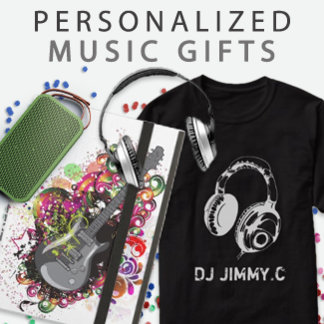 Personalized Music Themed Gifts