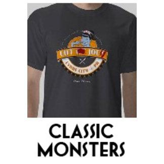 Classic Monster restaurant logo tshirts