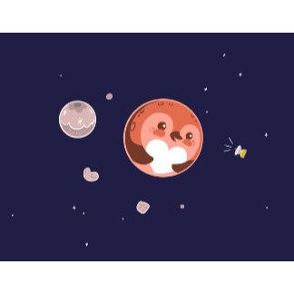 Pluto Penguin Planet