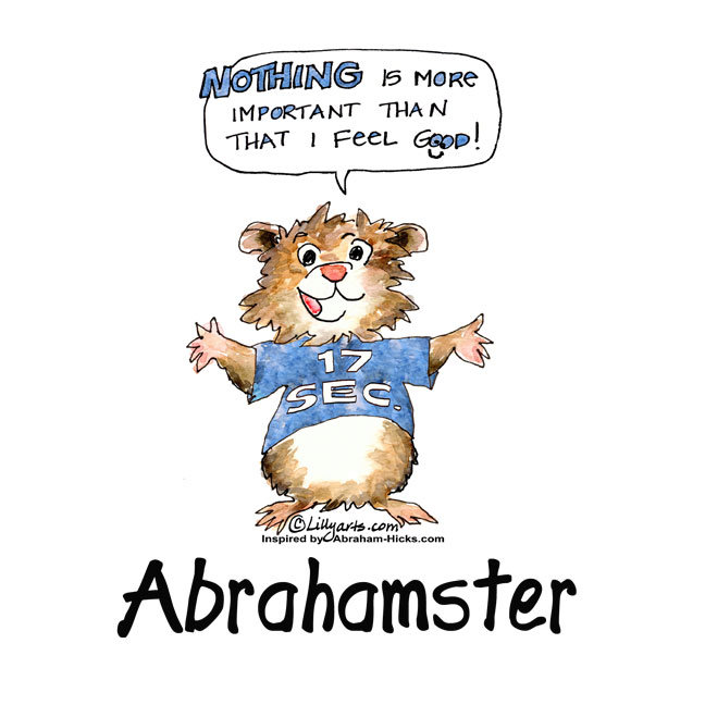 Abrahamster Well-Being Cartoons