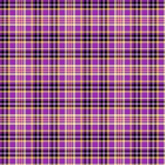 Purple Tartan Pattern