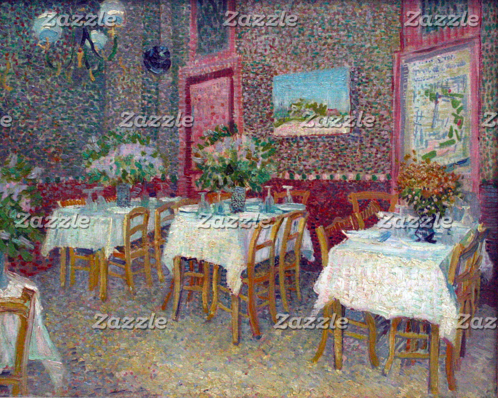 Interior of a Restaurant