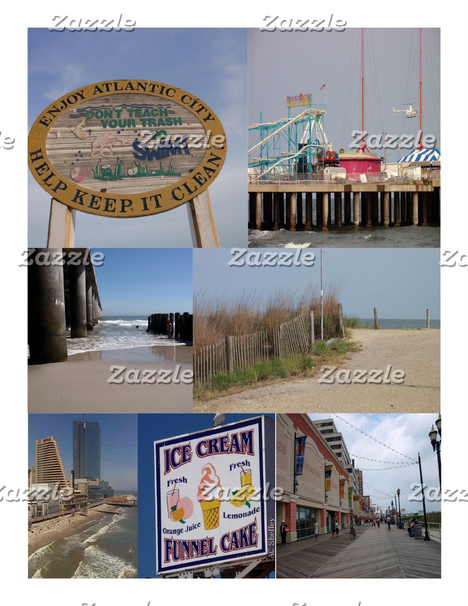 Atlantic City Boardwalk Photos