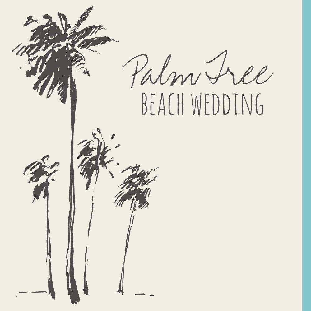 Palm Tree Beach Wedding
