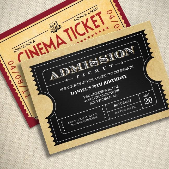 Ticket Invitations