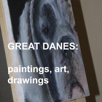 Great Danes artistic