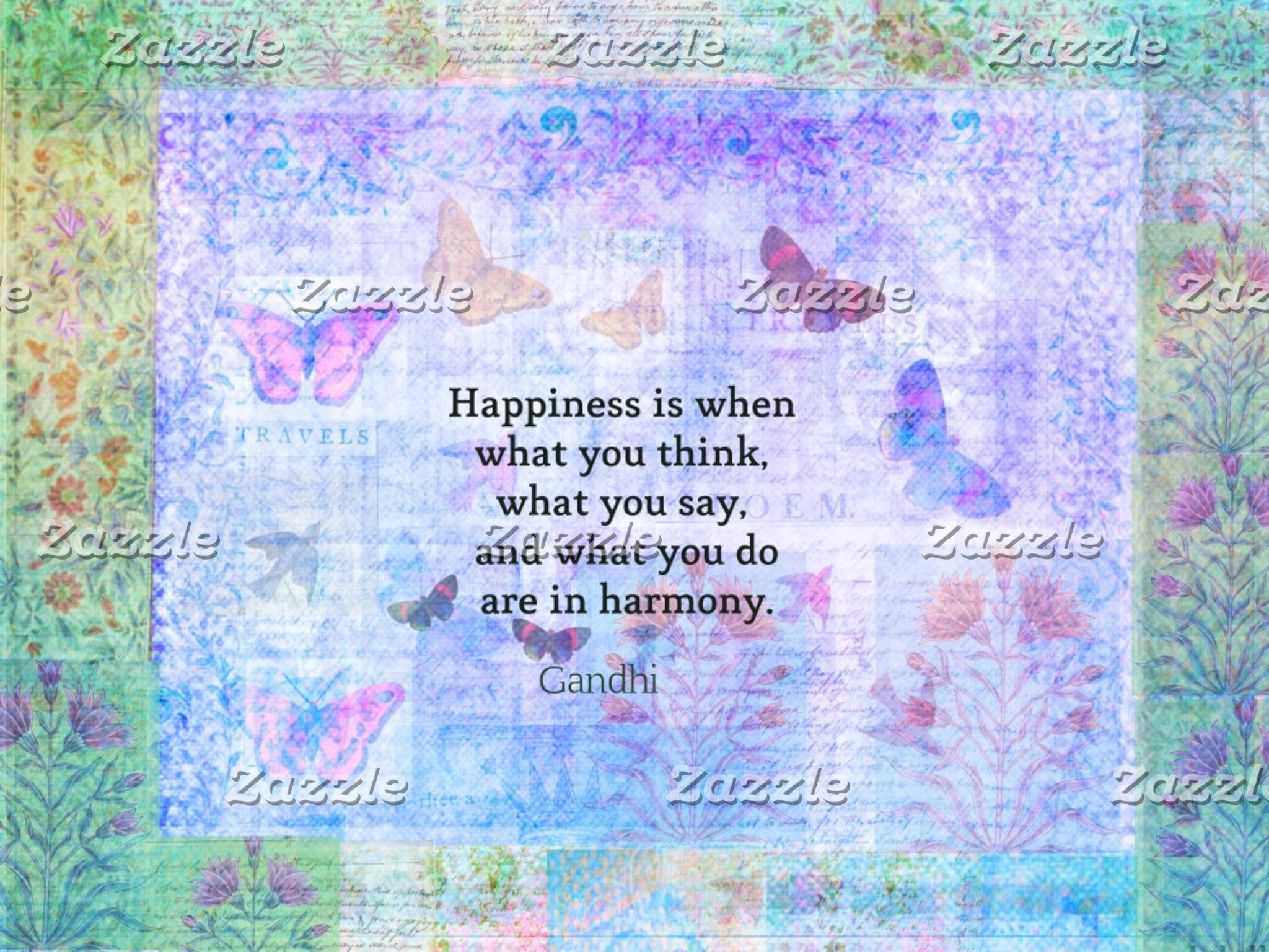 Happiness is when what you think, what you say
