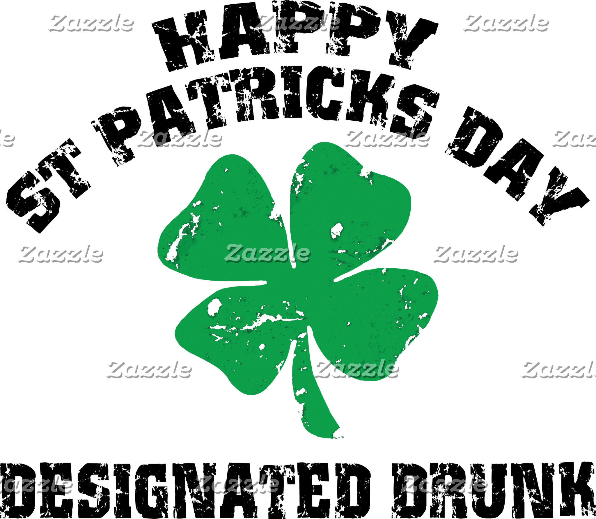 Irish Designated Drunk T-Shirts