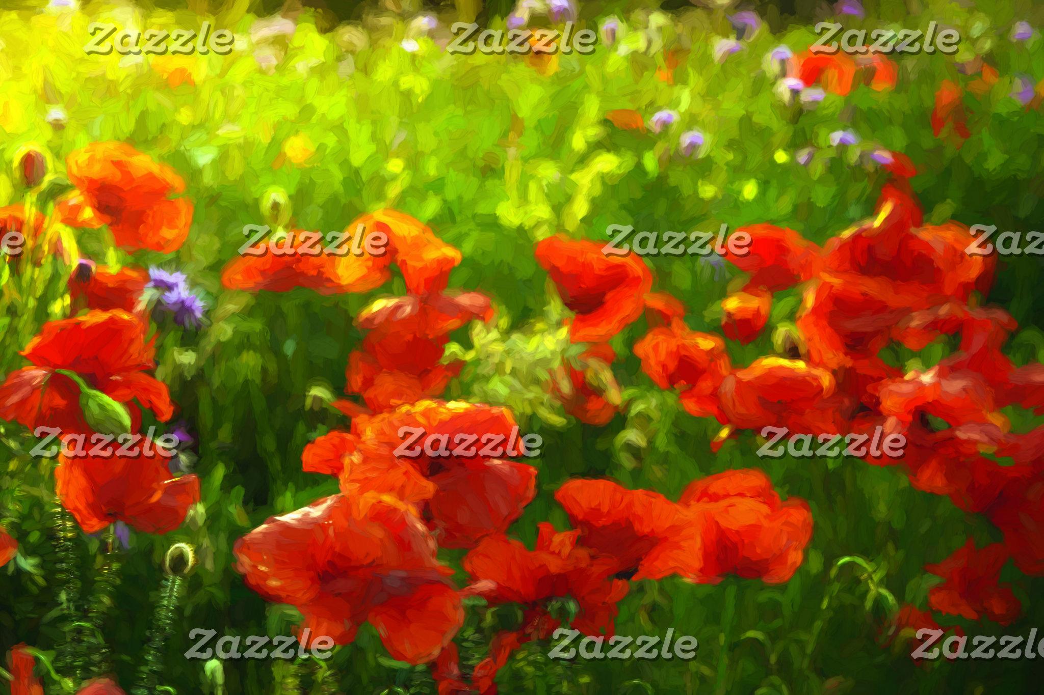 Floral summer meadows