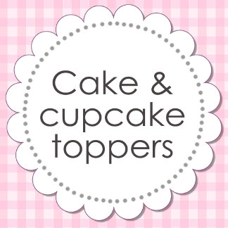 Cake & Cupcake Toppers