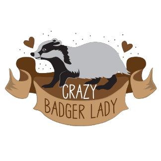 crazy badger lady banner
