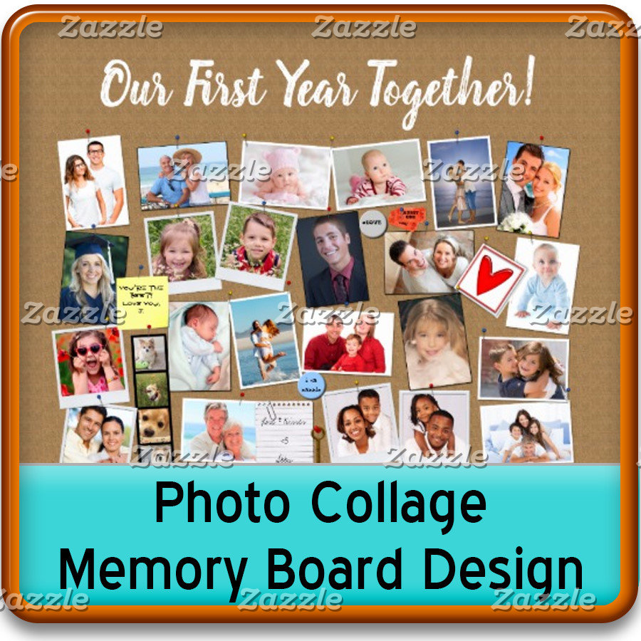 Fun Photo Collage Art & Memory Boards