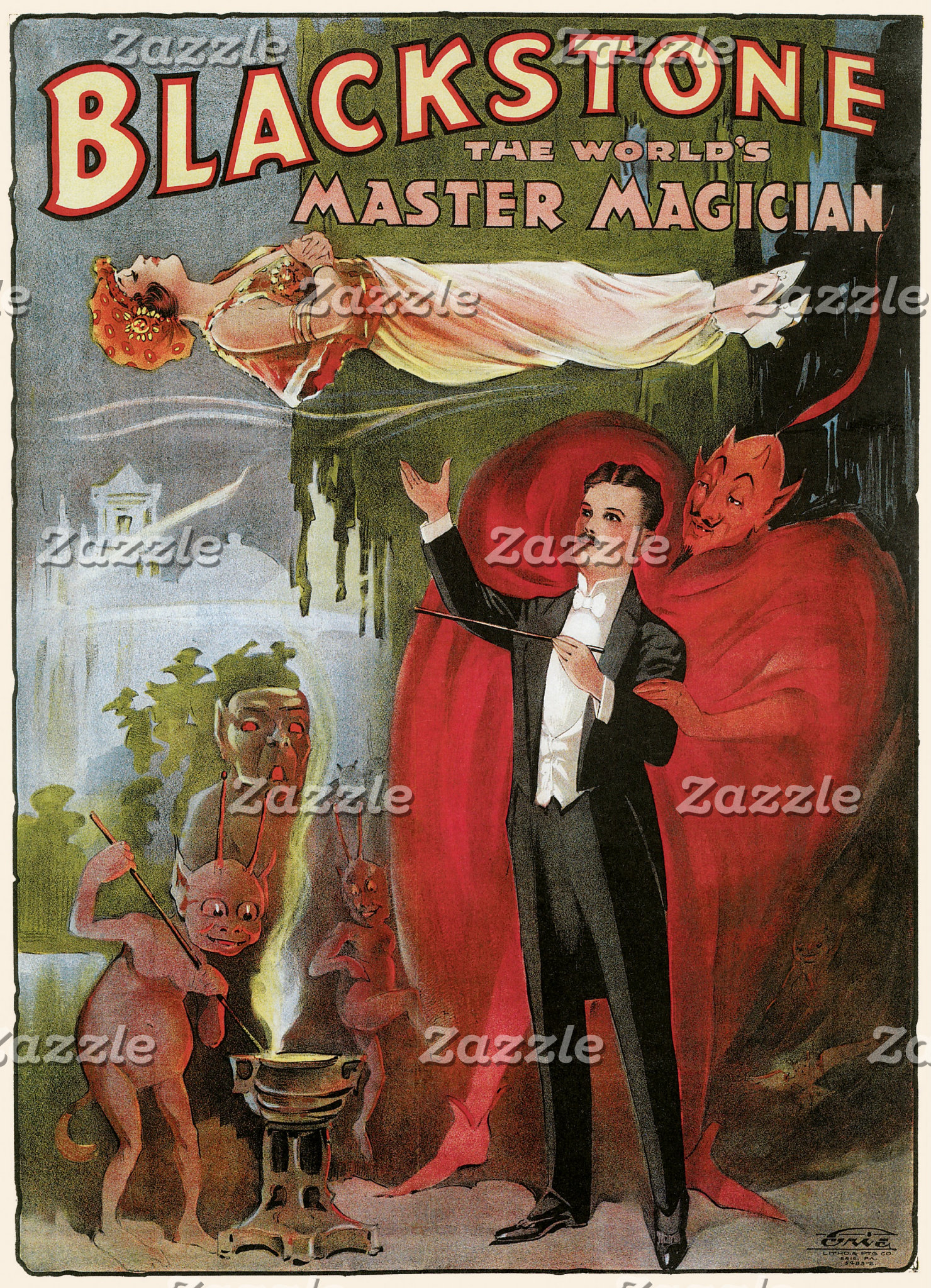 Vintage Magic Posters
