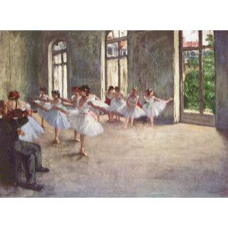 Edgar Degas | The Ballet Rehearsal
