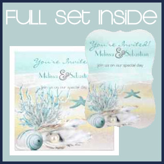 Dream Shore Beach Teal Wedding