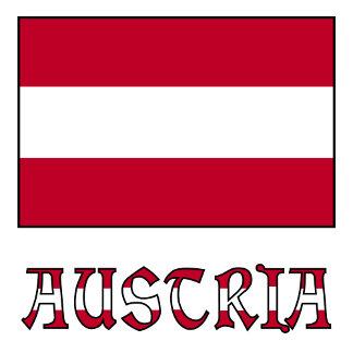 Austrian Flag and Austria