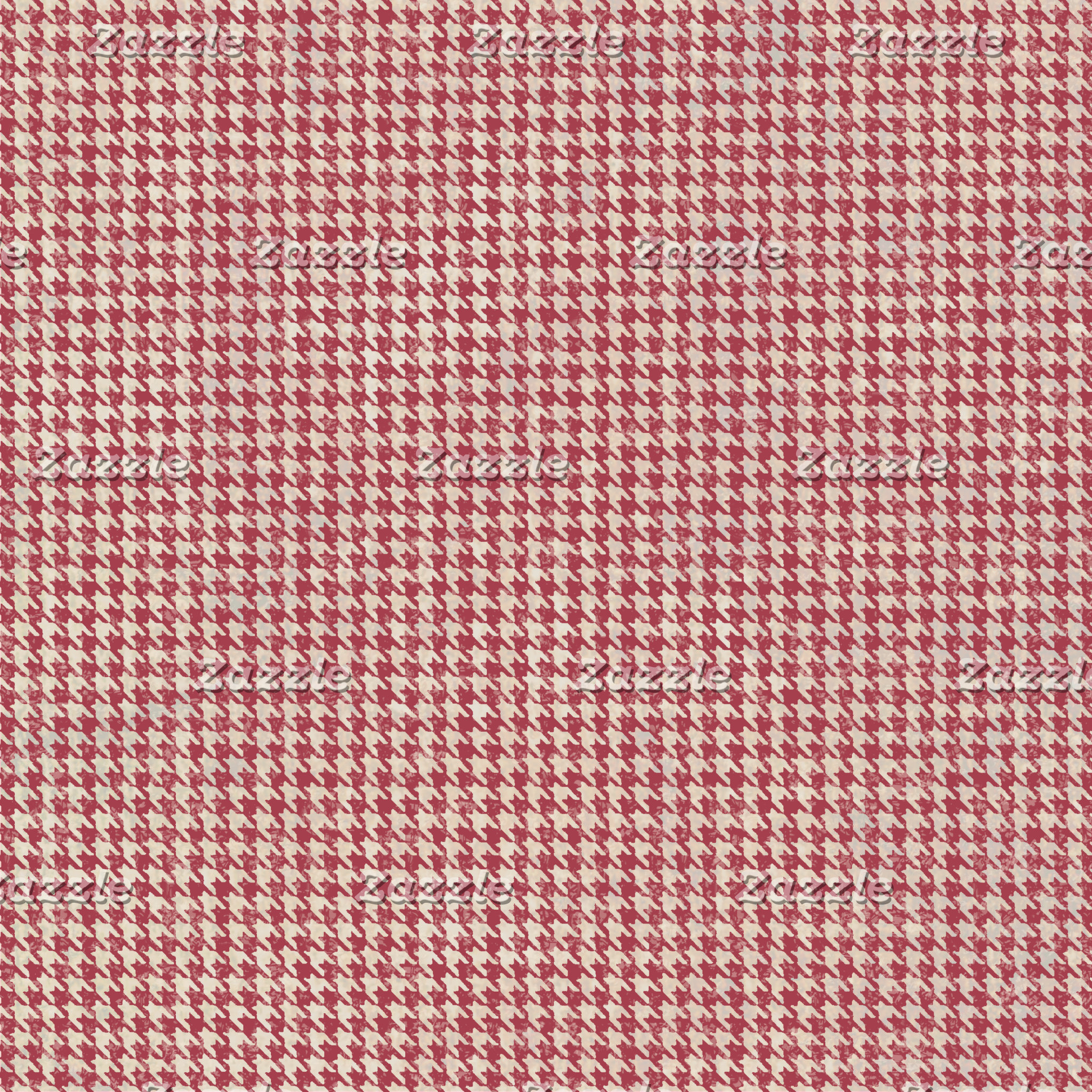 Classic Shabby Houndstooth Pattern (6 colors)