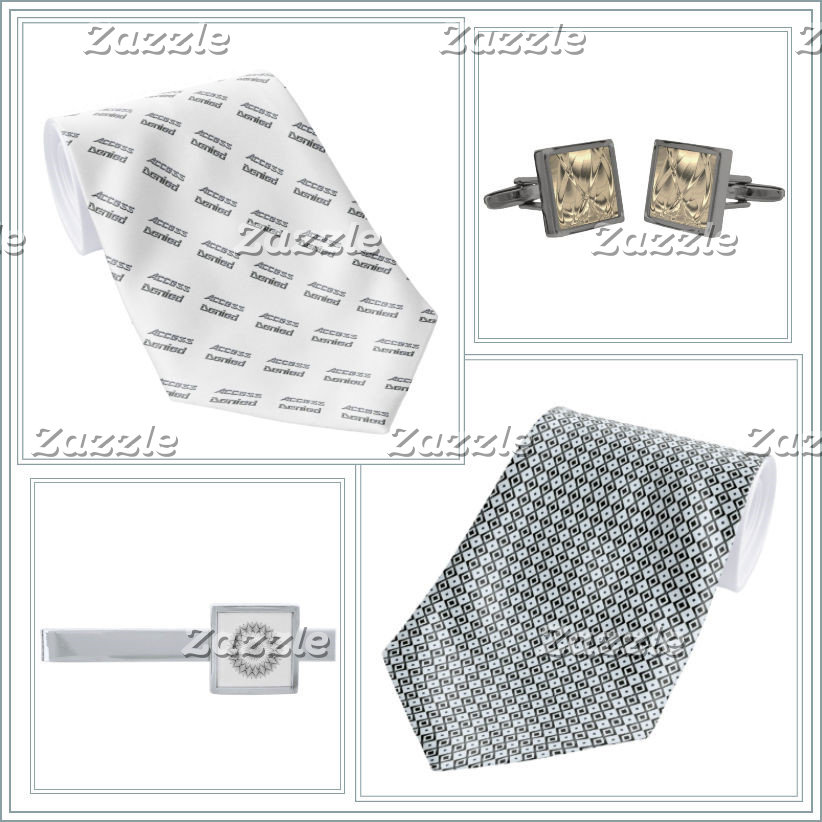 Ties, Cufflinks & Tie-Bars