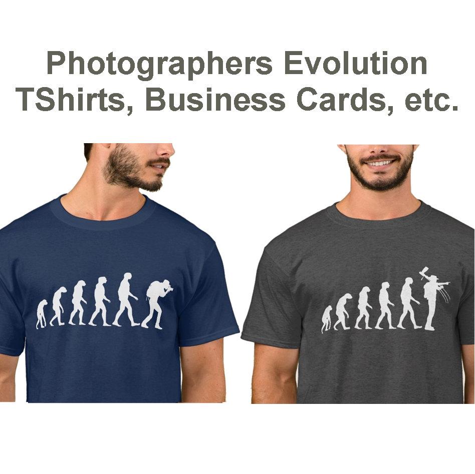 PHOTOGRAPHER EVOLUTION