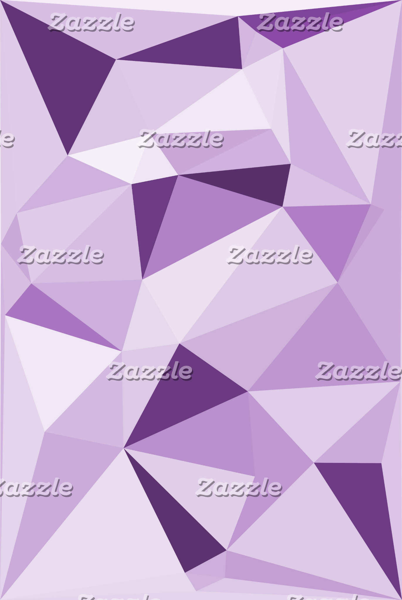 Abstract Purple Triangle Design