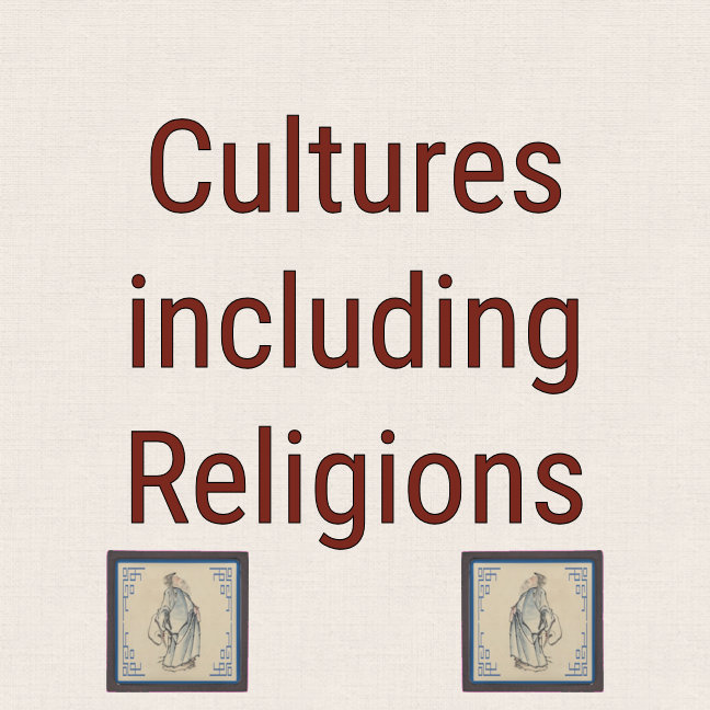 Cultures including Religion