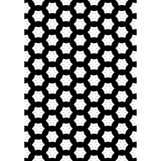 Black & White Patterns | Hexagons V