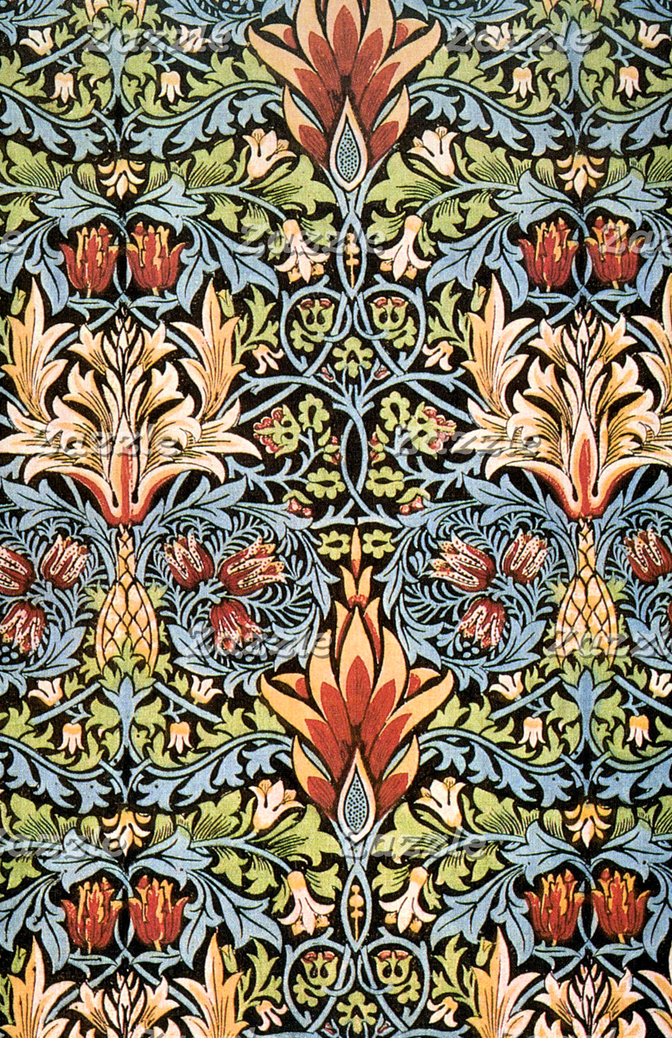 William Morris Snakeshead Design